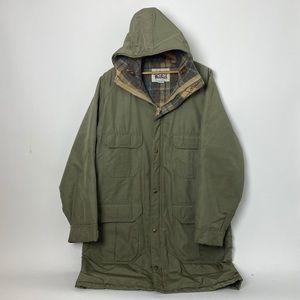 vintage Woolrich waterproof lined jacket